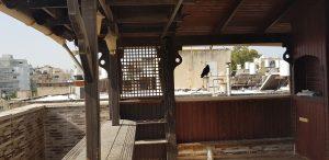 ניקוי מרפסת גג מצואת יונים
